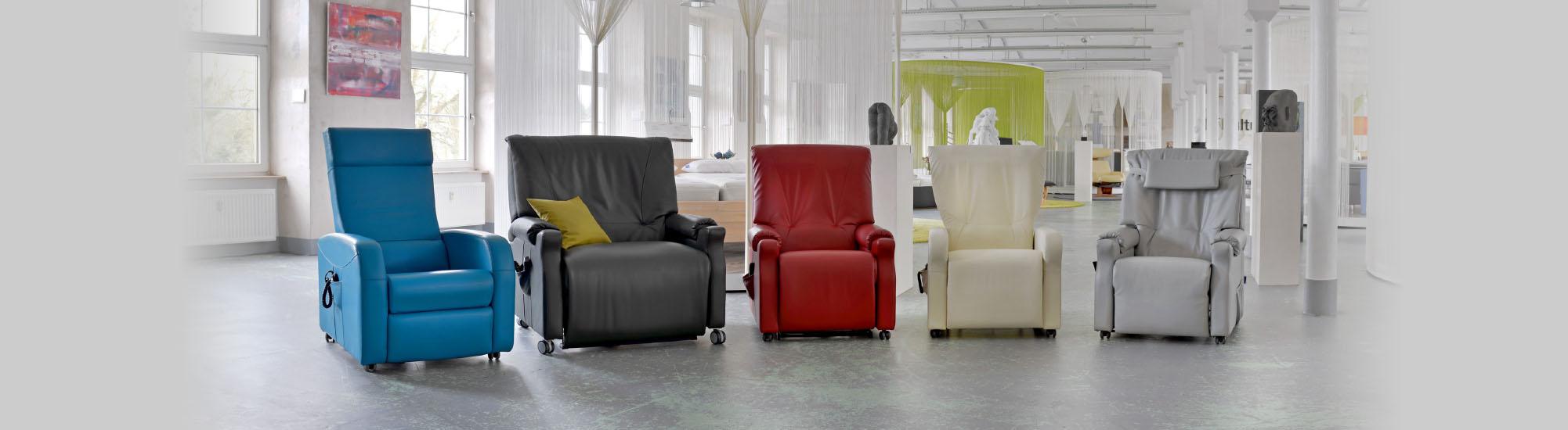 Unsere Sessel-Familie von Revilax Deutschland